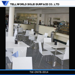 Restaurant Round Corian Dining Table/Cafe Table pictures & photos