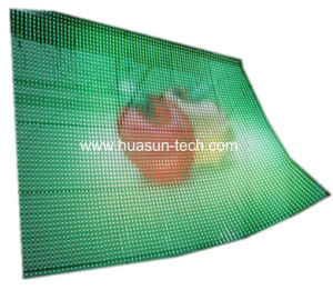 Transparent LED Display with Thin Body and High Brightness pictures & photos