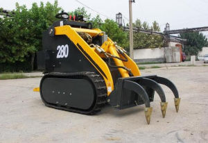 Mini Skid Steer Mini Loader HY280 0.15m3/0.16ton with CE pictures & photos