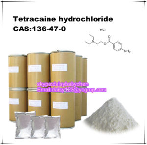 99% Tetracaine Hydrochloride/Tetracaine HCl CAS: 136-47-0 Local Anesthesia