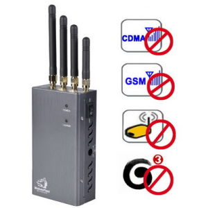 High Power Portable Cell Phone Jammer Wi-Fi GPS Blocker pictures & photos