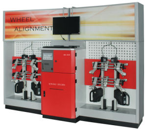 3D Wheel Aligner with CE Dwa-860