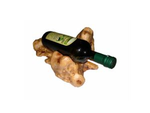 Wooden Root Carving Wine Holder (EF-WH1)