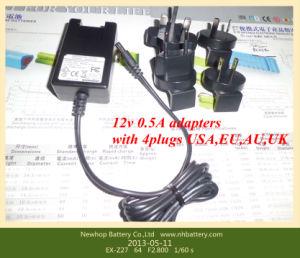 5W Adapter for Digital Cameras with 4 Plugs EU/USA/Au/UK