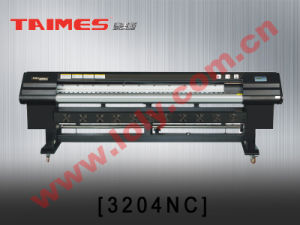 TAIMES 3204NC Solvent Printer (1x4 Spt-1020/35pl Printheads, Fastest Speed 107 Sqm/Hour, Panasonic Motor)