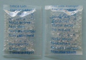 Silica Gel Desiccant in OPP Bag with 5 Languages Printing, Mainly for Sweets, Candy, Chewing Gum, Bubble Gum pictures & photos