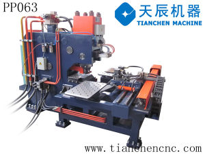 CNC Hydraulic Punching Machine for Plates (PP063) pictures & photos
