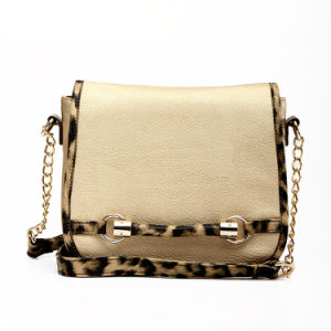 Noble Style Leopard Edge Lady Cross-Body Handbags (MBNO037110) pictures & photos