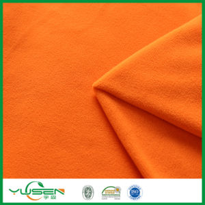 Polyester Micro Brushed Polar Fleece Fabric Used for Blanket pictures & photos