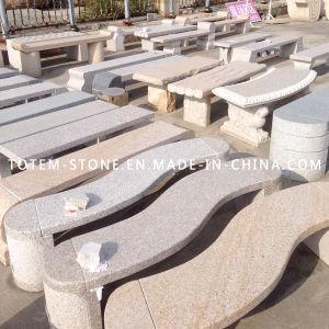 Natual Granite Stone Bench for Outdoor Garden or Park pictures & photos