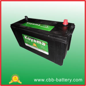 Factory Price 12V120ah Maintenance Free Auto Battery Heavy Duty Truck Battery pictures & photos