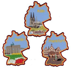 Embroidered Patch - Landsacpe pictures & photos