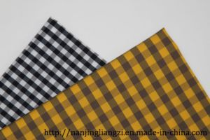 Cotton Nylon with Spandex Yarn Dyed Fabric-Lz6557 pictures & photos