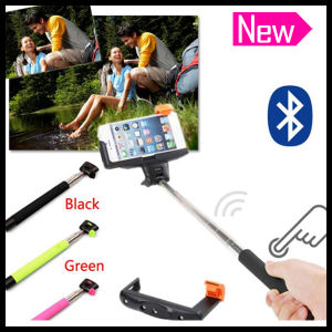 Extendable Foldable Wireless Remote Pocket Bluetooth Selfie Stick Monopod with Shutter pictures & photos