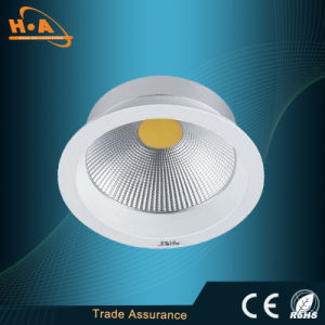 Embedded 5W/10W/15W COB LED Ceiling Downlight Lamp pictures & photos
