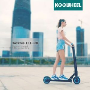 2017 Foldable 8inch Electric Scooter with Lithium Battery, Lightest E-Scooter pictures & photos
