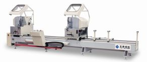 Double-Head Precision Cutting Saw for Aluminum Window and Door pictures & photos