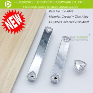 Luxury Diamond Zinc Furniture Dresser Handle Pull pictures & photos