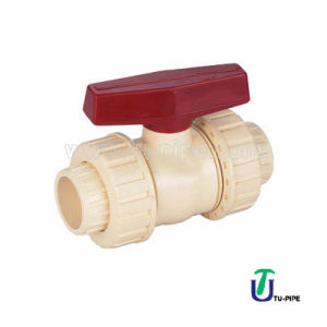 CPVC True Union Ball Valves DIN (Civil) pictures & photos