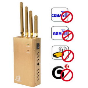 High Power Portable Cell Phone Blocker Wi-Fi GPS Signal Jammer pictures & photos