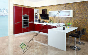 Modern Lacquer Kitchen Cabinet (ZS-143) pictures & photos