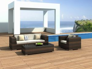 Outdoor / Garden / Patio / Rattan Sofa (NC6098)