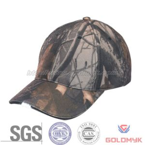 Camo LED Baseball Cap with Logo Custom (GKA01-A00022) pictures & photos