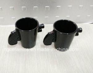 1.5oz Black Shooter Glass, Black Gun Handle Glass pictures & photos