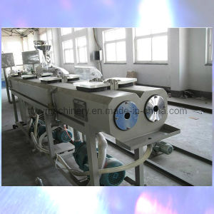 PVC Twin Pipe Extrusion Production Machine (SJSZ-51/63) pictures & photos