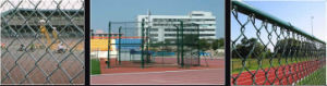 Galvanized PVC Coated Sports Fence pictures & photos