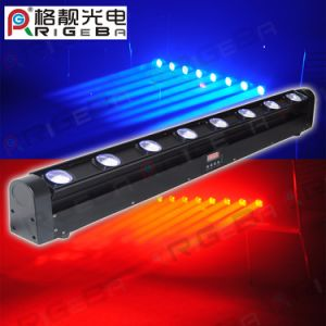 Stage Disco Bar DJ CREE 8LEDs 10W RGBW 4in1 Spot Beam LED Moving Head pictures & photos