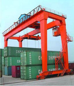 40ton Container Gantry Crane Rail Type (QM40T-32M/12M) pictures & photos