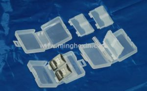 Transparent Plastic SD Card Box with ISO SGS pictures & photos