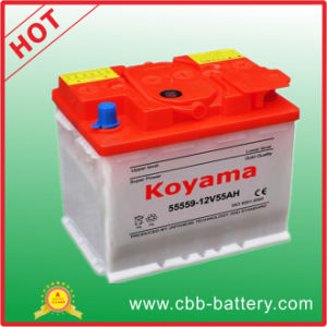 Mf Auto Battery DIN Standard -55430-12V54ah pictures & photos