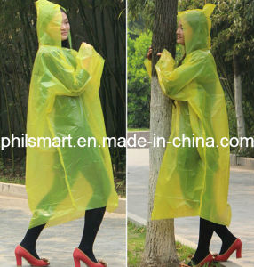 2014 Emergency Waterproof Hiking / Traveling / Tour Rain Poncho pictures & photos