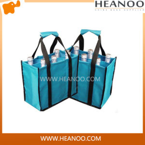Extra Large Wholesale Cheap Customized Wine Bottle Shopping Bag pictures & photos