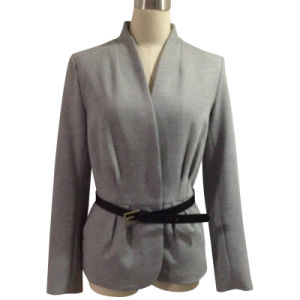 Ladies Fashion Ponte Jacket