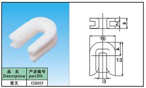 High Purity Textile Ceramic Eyelets for Speical Guide Part pictures & photos