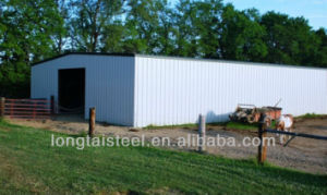 Flexible Prefab Steel Frame Warehouse Construction pictures & photos