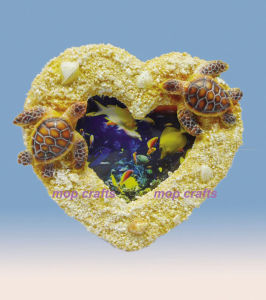 Polyresin Frame with Turtle pictures & photos