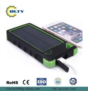 8000mAh portable Solar Charger Power Bank pictures & photos