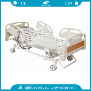 ABS Handrails Five Functions Double Electric Bed (AG-BM002) pictures & photos