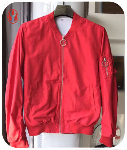 Colorful Fashion Men Bomber with Elastic Rib pictures & photos