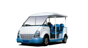 Kingstar 8-14 Seats Gasoline Sightseeing Car pictures & photos