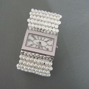 Pearl Watch, Fashionable Shell Pearl Wristwatch (WH101) pictures & photos