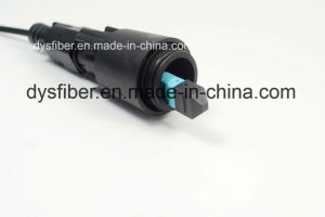 Waterproof IP68 Ipfx MPO 5.0mm Armored Outdoor Optical Patchcord pictures & photos