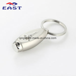Promotion Gifts Tower Embossment Zinc Alloy Key Holder pictures & photos
