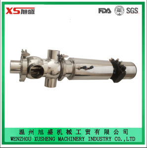 Dn50 Stainless Steel Sanitary Pneumatic Mixproof Valve with One-Piece Valve Body pictures & photos