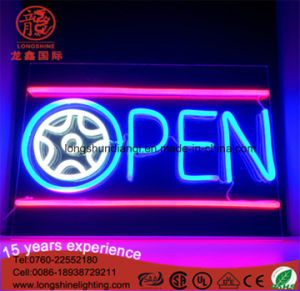 Factory Price IP65 Open LED Neon Sign Light for Party pictures & photos