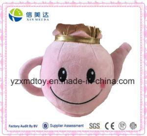 Unique Design Plush Pink Teapot Stuffed Educational Children Toy pictures & photos